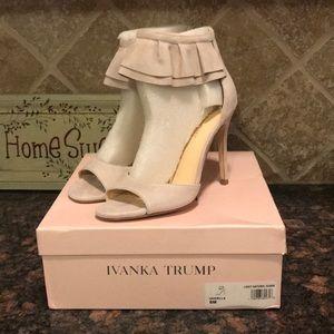 Ivanka Trump suede heels